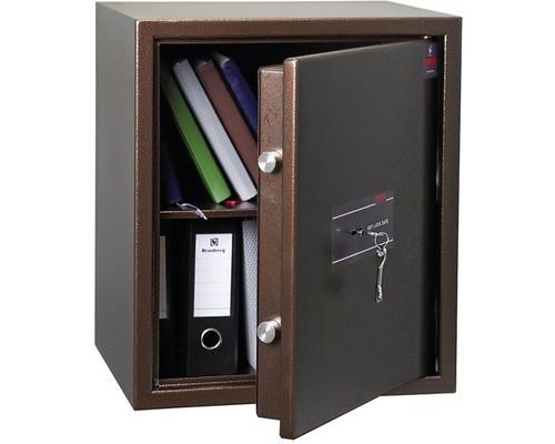 Сейф мебельный Onix TL-50M коричневый ключевой замок - (607852К)