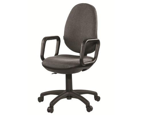 Кресло офисное Easy Chair Comfort GTP серое ткань/пластик - (81111К)
