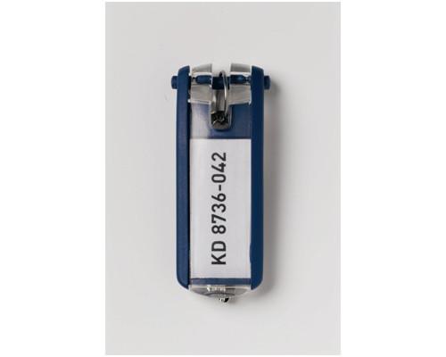 Набор брелков на ключи Durable Key Clip синие 6 штук - (195504К)