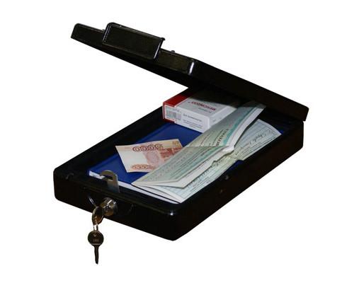 Сейф автомобильный Onix CS-1 ключевой замок - (239328К)