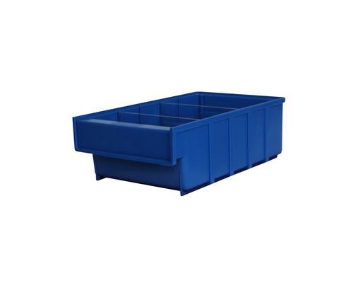 Ящик пластиковый ДиКом серия Б синий 185х300x100 мм - (526283К)