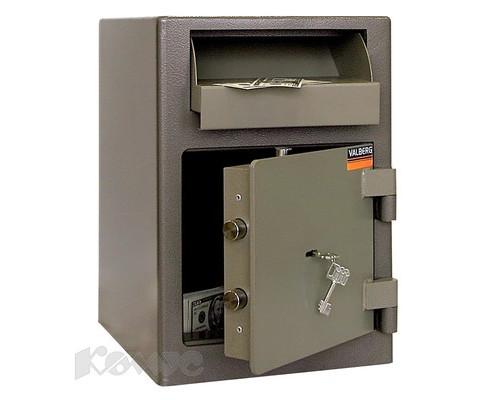 Сейф депозитный Valberg ASD-19 ключевой замок - (174169К)