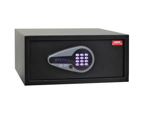 Сейф гостиничный ONIX H20/44E черный электронный замок - (618490К)