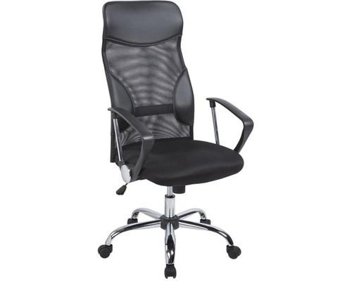 Кресло для руководителя Easy Chair 506 TPU черное ткань/сетка/искусственная кожа/пластик/металл - (273572К)