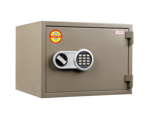 Сейф огнестойкий AIKO FRS-350 E коричневый электронный замок - (667758К)