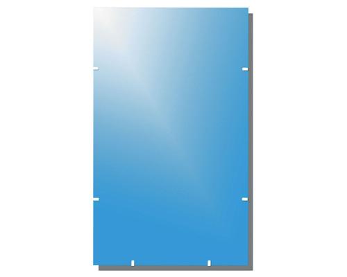 Зеркало настенное Классик-1 прямоугольное 1000x600 мм - (139922К)