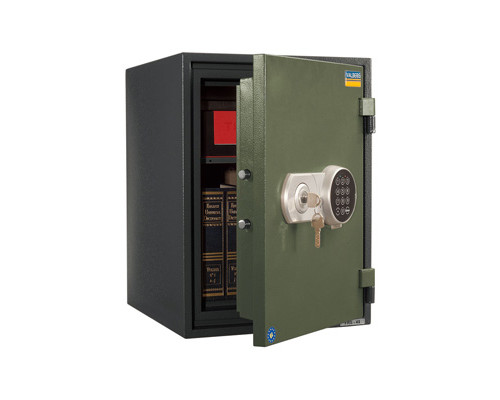 Сейф огнестойкий Valberg FRS-49 EL ключевой и электронный замки - (148539К)