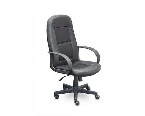 Кресло для руководителя Идра черное искусственная кожа/ткань/пластик - (469852К)