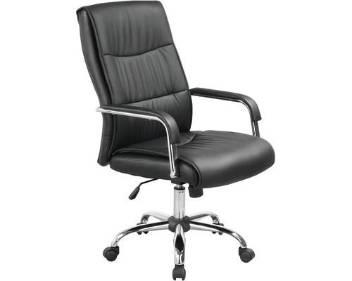 Кресло для руководителя Easy Chair 509 TPU черное искусственная кожа/металл - (326195К)