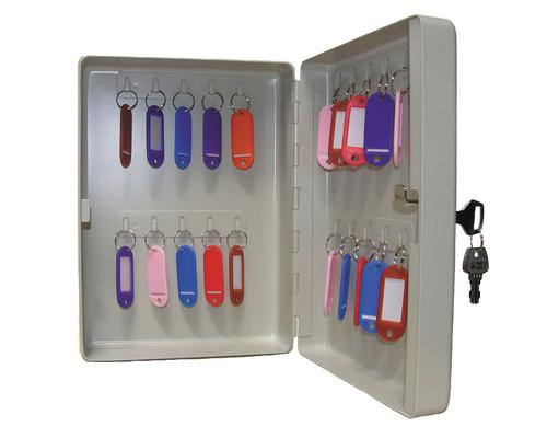 Шкаф для ключей Shuh KB-20 серый на 20 ключей металлический - (135821К)