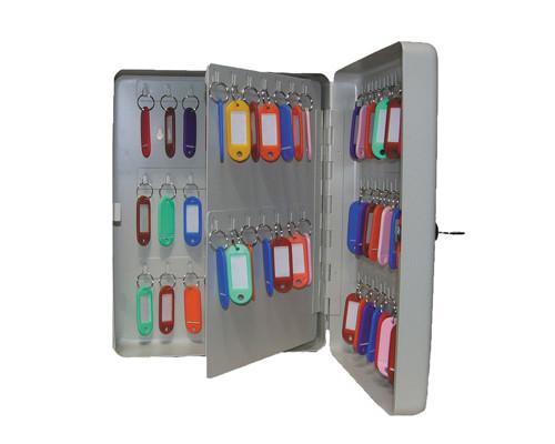 Шкаф для ключей Shuh RU KB-70 серый на 70 ключей металл - (135823К)