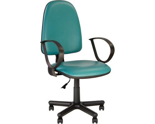 Кресло офисное Jupiter зеленое искусственная кожа/пластик/металл - (508875К)