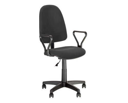 Кресло офисное Prestige GTP J RU черное ткань/пластик - (501764К)