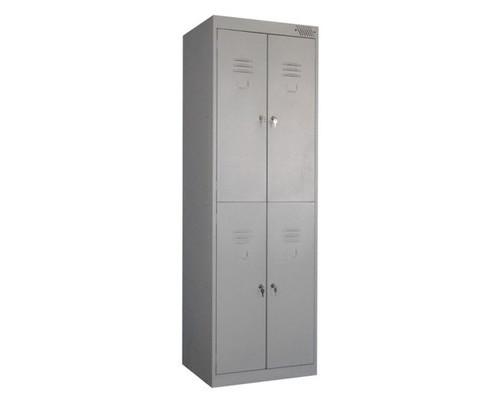 Шкаф для одежды металлический ШРК-24-600 600х500х1850 мм - (355306К)