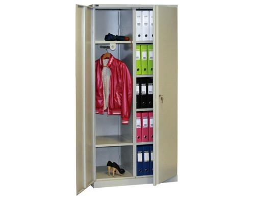 Шкаф хозяйственный металлический Nobilis NM-991/2U 915x458x1900 мм - (235534К)