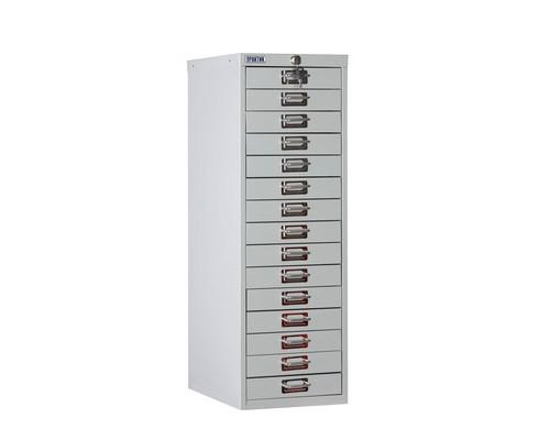 Шкаф Практик MDC-910/15 серый 15 ящиков - (544526К)