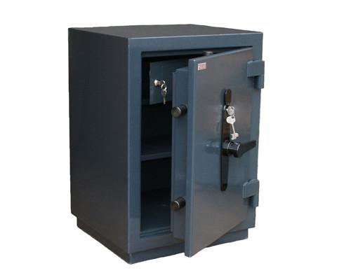 Сейф взломостойкий ПК-10 Т с трейзером ключевой замок - (301685К)