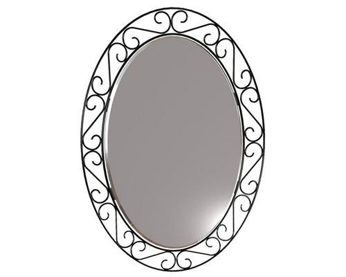 Зеркало настенное Грация 629 500x360 мм черное - (421880К)