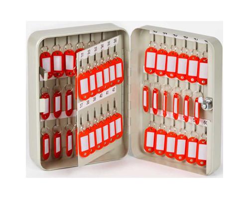 Шкаф для ключей Office-Force 20071 серый на 60 ключей металлический - (78312К)