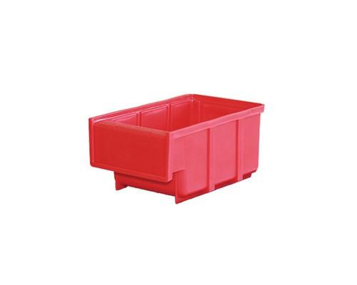 Ящик пластиковый ДиКом серия Б красный 105x170х80 мм - (161464К)