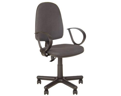 Кресло офисное Jupiter серое ткань/пластик/металл - (508871К)