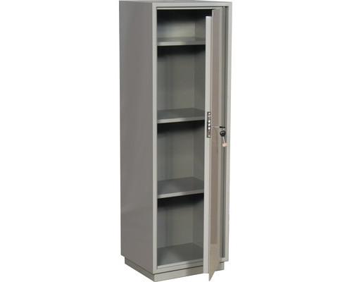 Шкаф бухгалтерский металлический КБC 021 ключевой замок 420x360x1300 мм - (178310К)