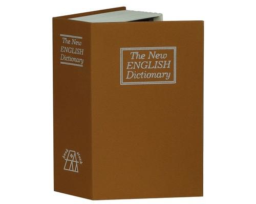 Кэшбокс-книга Onix BS-180 коричневая - (413980К)