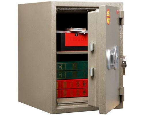 Сейф огнестойкий AIKO FRS-480 коричневый ключевой замок - (667759К)