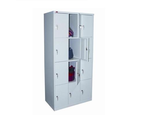 Шкаф металлический для сумок ШРМ312 на 12 отделений 900х500х1860 мм - (79034К)