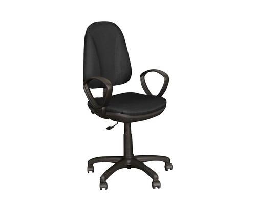 Кресло офисное Easy Chair Pegaso черное ткань/пластик - (123952К)