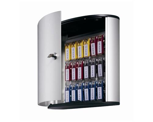 Шкаф для ключей Durable 1951-23 серый на 18 ключей алюминиевый - (195500К)