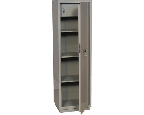 Шкаф бухгалтерский металлический КБC 031т трейзер ключевой замок 470x395x1550 мм - (178311К)
