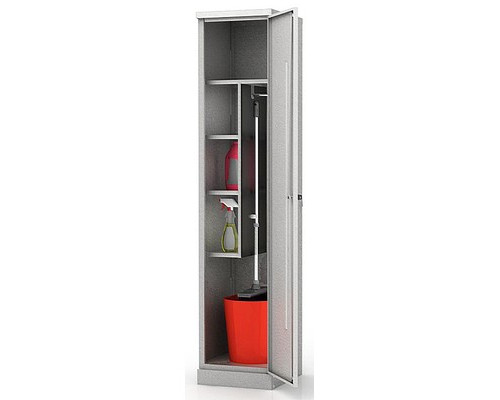 Шкаф хозяйственный ШМС-6.18 400x450x1850 мм - (516620К)