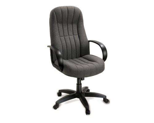 Кресло для руководителя Chairman 685 серое ткань/пластик - (53825К)