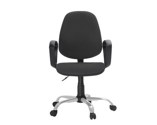 Кресло офисное Easy Chair 222 серое ткань/пластик/металл - (622254К)