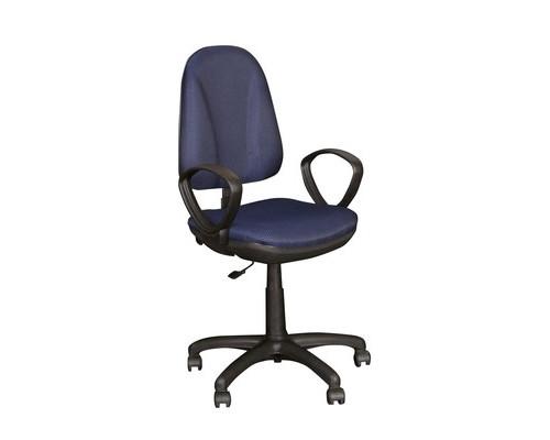 Кресло офисное Easy Chair Pegaso темно-синее ткань/пластик - (123953К)