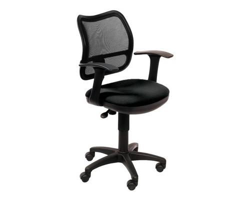 Кресло офисное Бюрократ CH 797 черное ткань/сетка/пластик - (107459К)