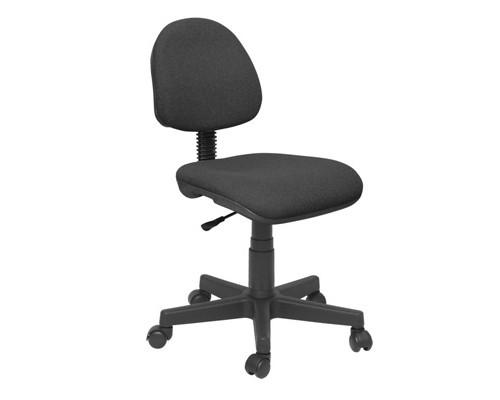 Кресло офисное Regal без подлокотников черное ткань/пластик - (141171К)