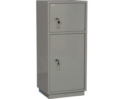 Шкаф бухгалтерский металлический КБС 042т 420х350х960 мм - (125687К)