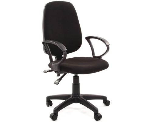 Кресло офисное Easy Chair 318 AL черное ткань/пластик - (506143К)