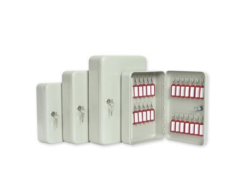Шкаф для ключей Office-Force 20080 серый на 20 ключей металлический - (78310К)