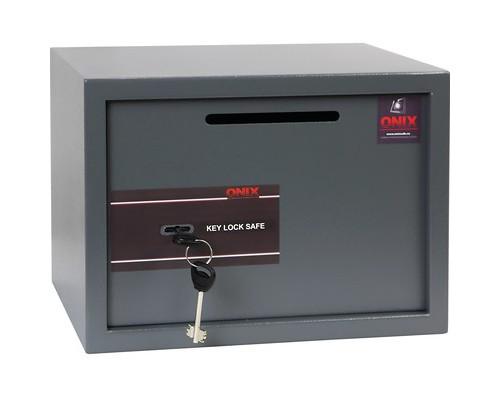 Сейф Onix LS25KD депозитный ключевой замок - (614448К)