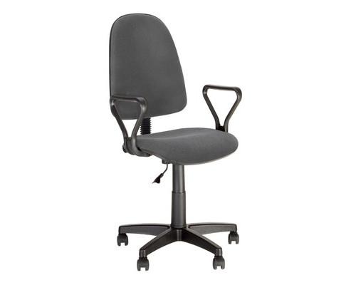 Кресло офисное Prestige GTP J RU серое ткань/пластик - (501763К)