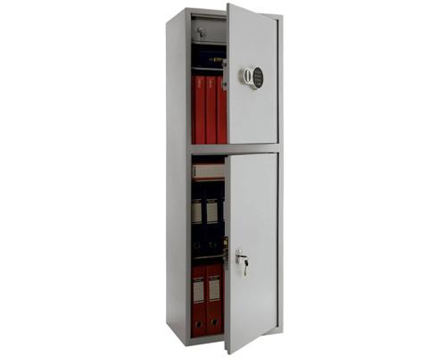 Шкаф бухгалтерский Практик SL-150T-EL/2 460x340x1490 мм - (141735К)