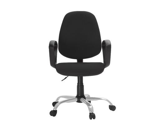 Кресло офисное Easy Chair 222 черное ткань/пластик/металл - (622253К)