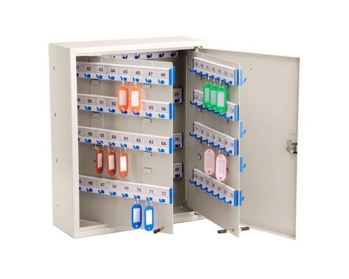 Шкаф для ключей Shuh RU KBP-160 серый на 160 ключей пластиковый - (312564К)