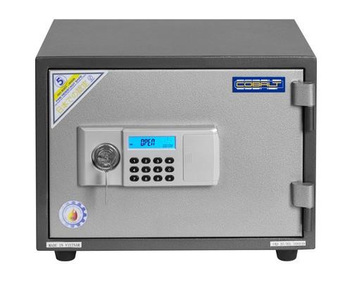 Сейф огнестойкий Cobalt FAS 37/3EL ключевой и электронный замки - (361302К)