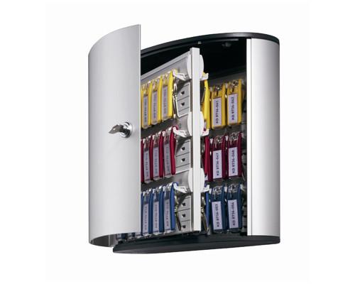 Шкаф для ключей Durable 1953-23 серый на 54 ключа алюминиевый - (195502К)
