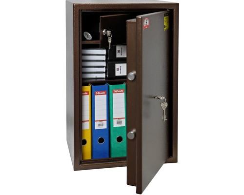 Сейф мебельный Onix TL-65Ms коричневый с трейзером ключевой замок - (607853К)
