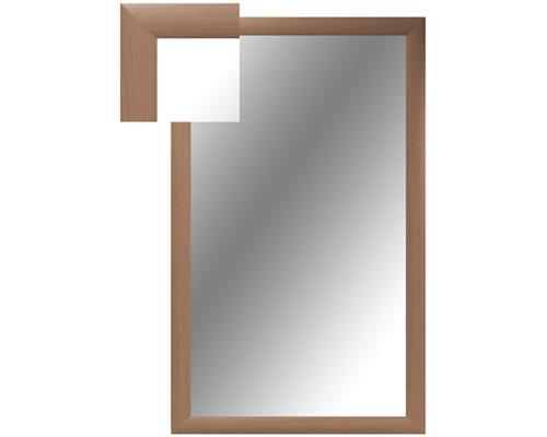 Зеркало настенное Attache 1000x600 мм бук - (252282К)